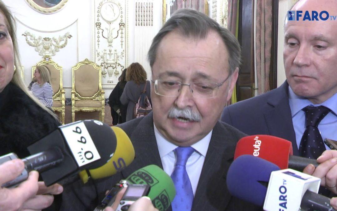 Vivas certifica el compromiso de Rajoy con Ceuta