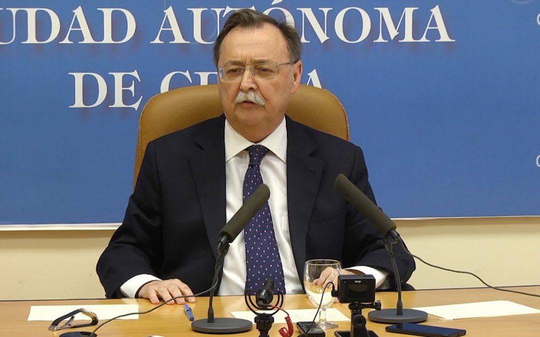 """Vivas se aferra a la """"implicación con Ceuta"""" del presidente Mariano Rajoy"""