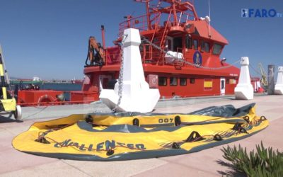 Siete subsaharianos se juegan la vida en una toy hasta Ceuta
