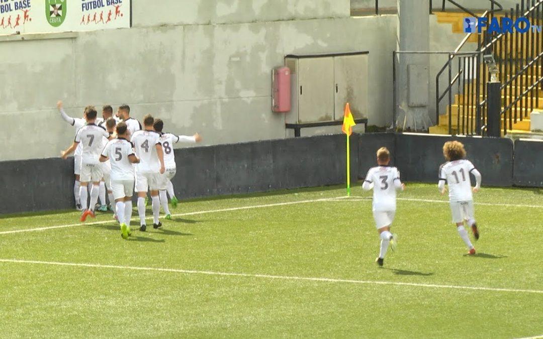 El Ceuta vence al Utrera y se sitúa a cinco puntos del líder