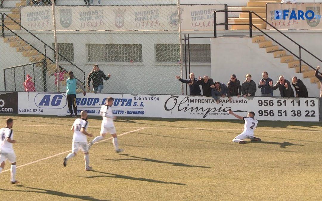Tercera División de fútbol: AD Ceuta 2 – 0 Sevilla C