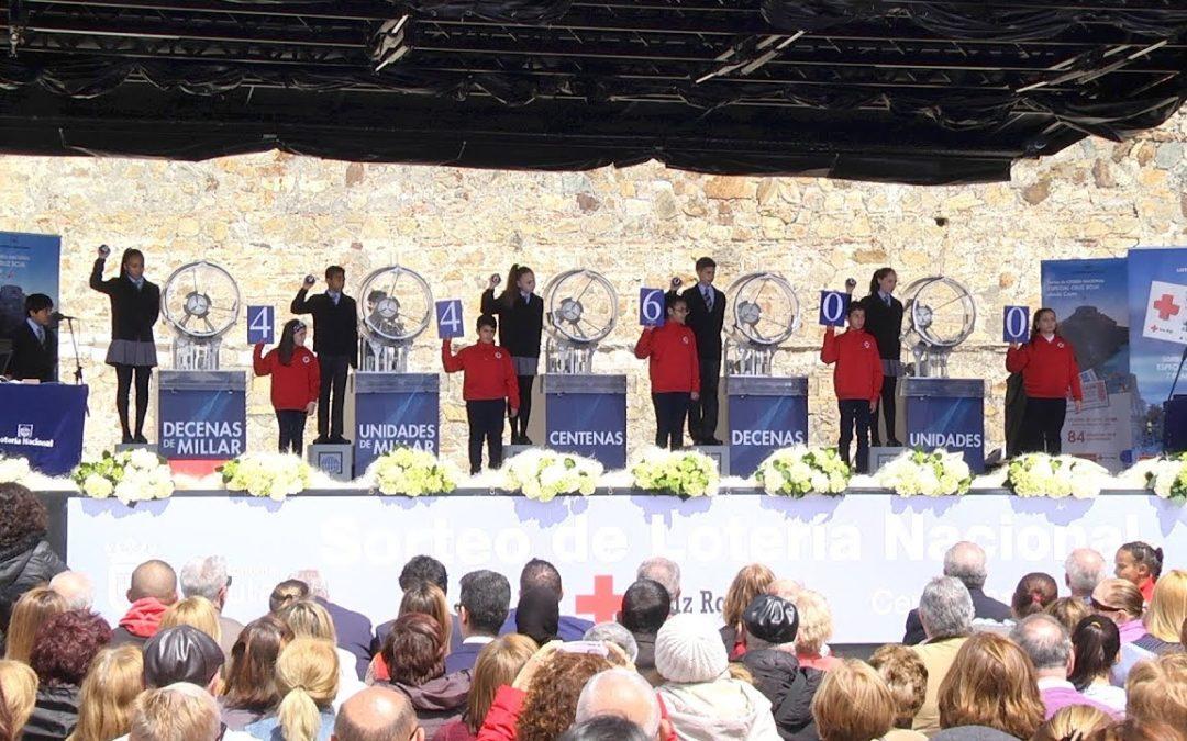 Ceuta se convierte en el escenario del Sorteo Especial de la Cruz Roja