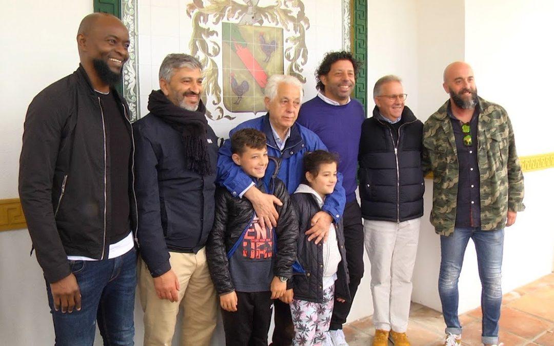 Sentido homenaje al exjugador caballa José Barrientos