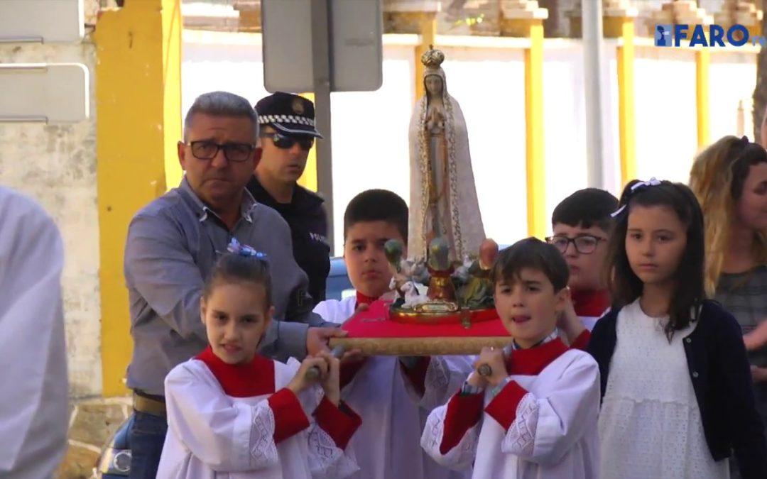 Ceuta homenajeó también a la Vigen de Fátima en el centenario de su aparición