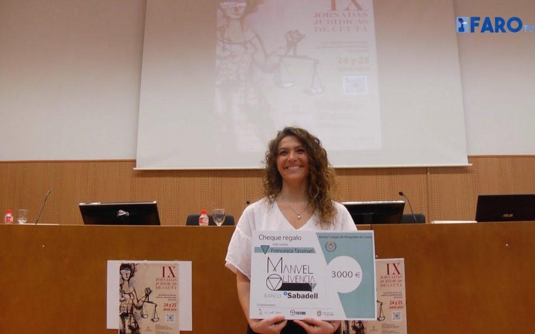 Francesca Tassinari recibe el Premio Manuel Olivencia 2018