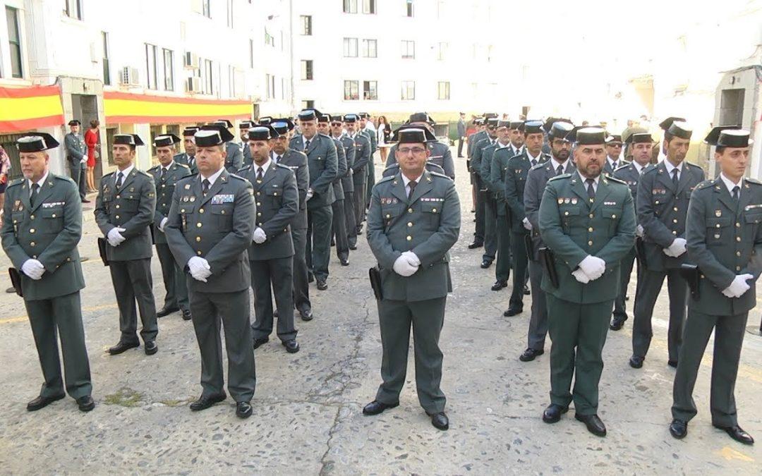 La disolución de ETA marcó el 174 aniversario de la fundación de la Guardia Civil