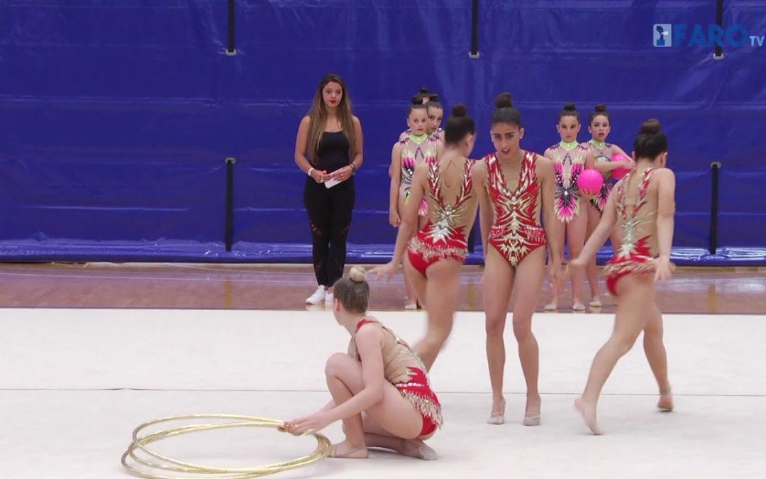 La gimnasia rítmica al más alto nivel en el 'Molina'