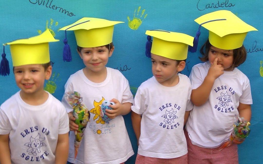 La guardería Solete celebra su graduación