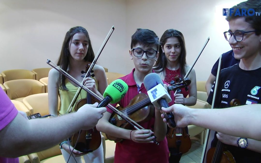 Siete músicos del Conservatorio de Ceuta tocarán en China