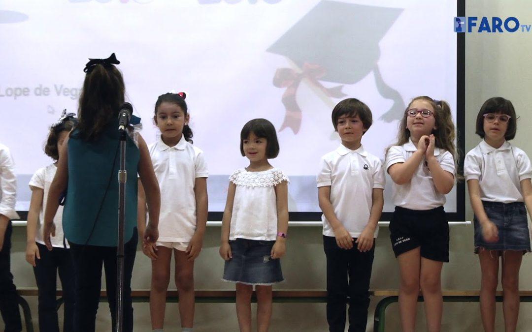Graduación infantil del colegio Lope de Vega