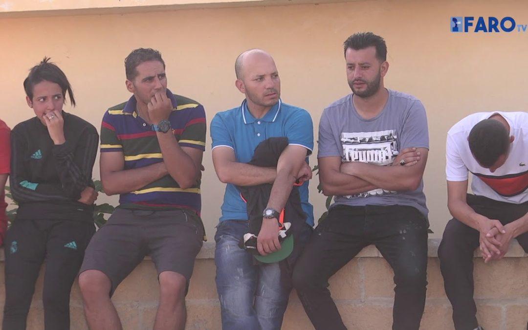 Huida sin éxito del colectivo de argelinos a la península