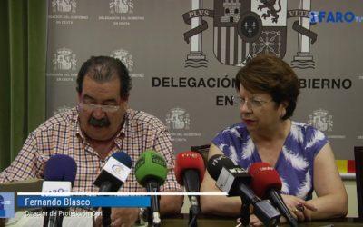 """Delegación afirma que la OPE """"no se ha notado en Ceuta"""""""