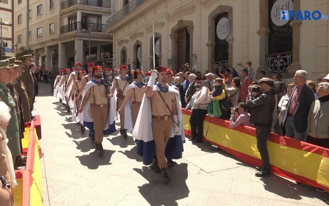 Ceuta homenajeó al Teniente Ruiz, héroe del levantamiento del 2 de mayo