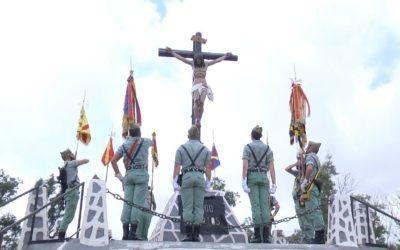 La Legión celebra en Ceuta sus 98 años de vida