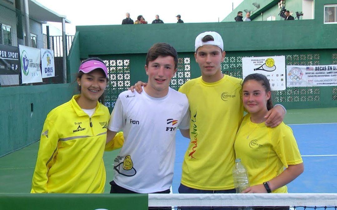 Amistad y convivencia en el Torneo 'Unidos por el Tenis'