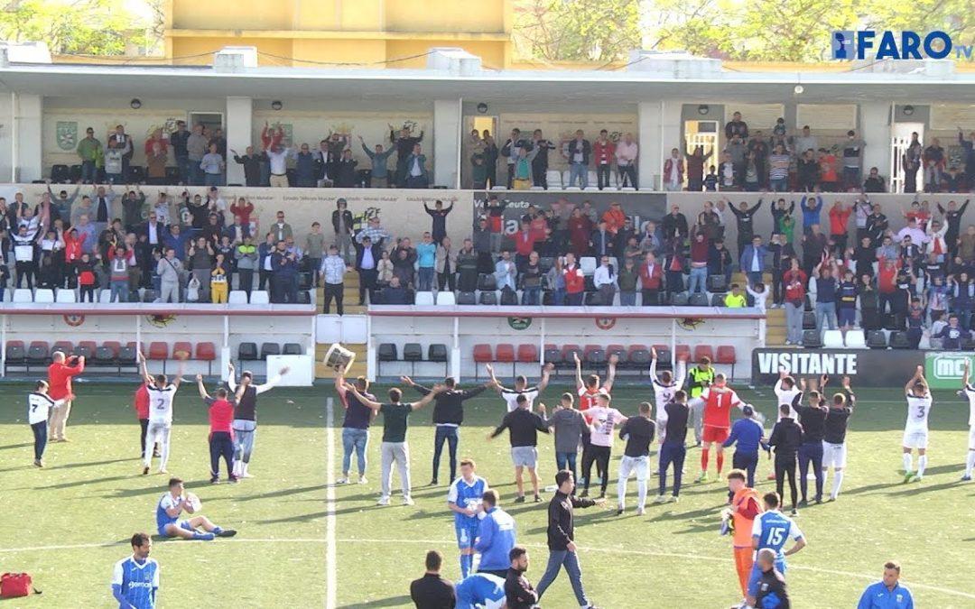 AD Ceuta FC 4-0 Guadalcacín | Grupo X de la Tercera División | Temporada 2017-2018