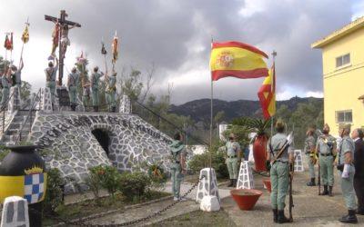Sábado Legionario en García Aldave, como clausura de las VII Jornadas de Tradición Legionaria