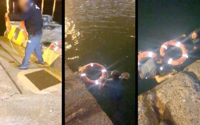 Policía Portuaria intercepta a varios inmigrantes intenta colarse en el barco en Ceuta