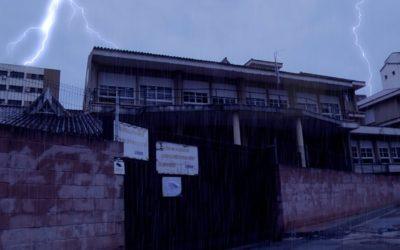 Pasaje del terror en el colegio San Daniel