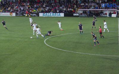El Ceuta se hace con el derbi por 3-2 con un 'hat-trick' de Camps