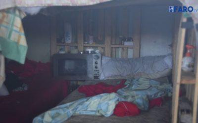 Barracones del Sardinero en Ceuta: un 'hotel de 5 estrellas' de mierda