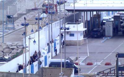 """Controles en la frontera del Tarajal entre Ceuta y Marruecos:  """"Esto es una ruina"""""""