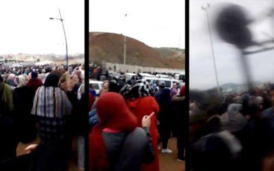 Así esta la frontera de Ceuta con Marruecos: un infierno para superar Tarajal