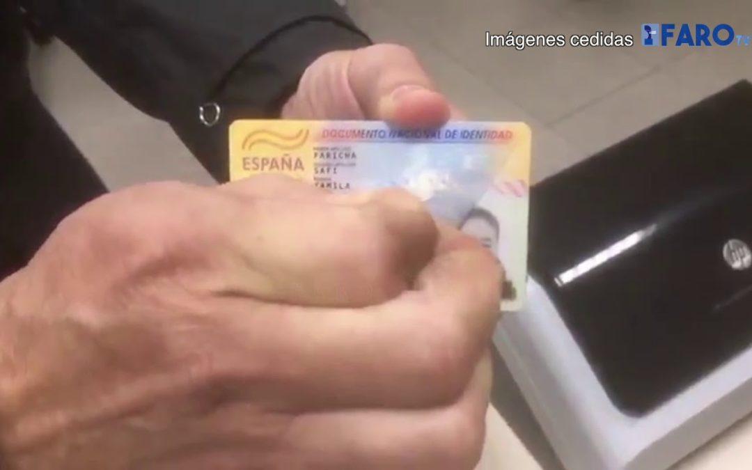 Así falsifican los DNI en el puerto de Ceuta