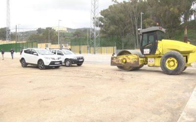La barriada del Príncipe dispondrá en abril de dos campos de fútbol 7