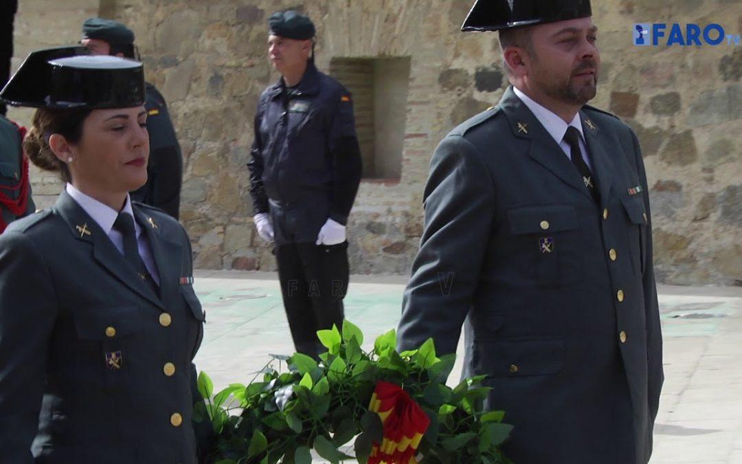 Así ha homenajeado la Guardia Civil de Ceuta a los compañeros fallecidos
