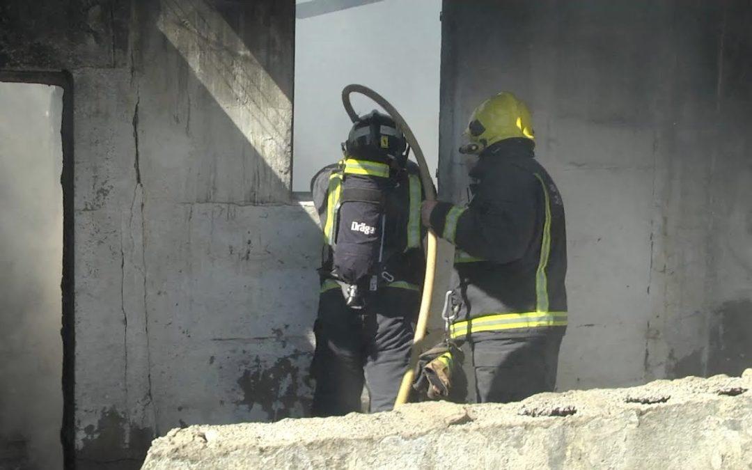 Los vecinos de la calle Argentina en alerta tras un incendio