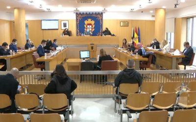 Sesión plenaria ordinaria de la Asamblea de Ceuta del mes de febrero