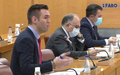 Sesión plenaria de control al Gobierno de la Asamblea de Ceuta correspondiente a febrero