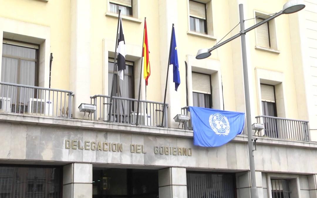 Ceuta se viste de azul por el 70 aniversario de la ONU