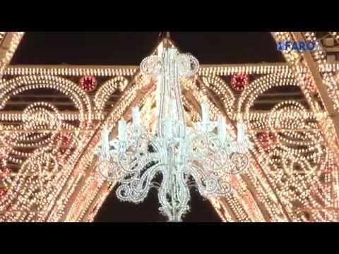 Así luce la nueva decoración de Navidad del centro de la Ciudad