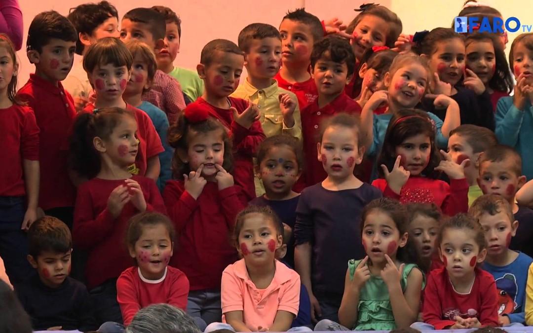 El colegio Juan Carlos I celebra el 'Día mundial de la Infancia'