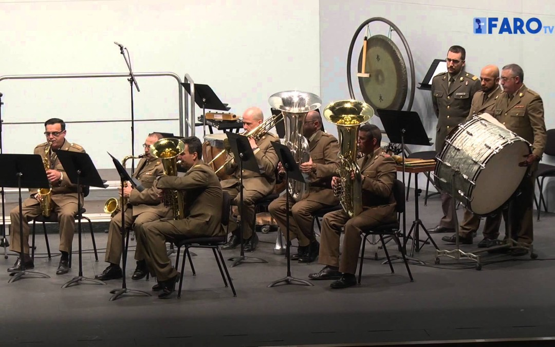 Concierto de la unidad militar de música en honor a Santa Cecilia