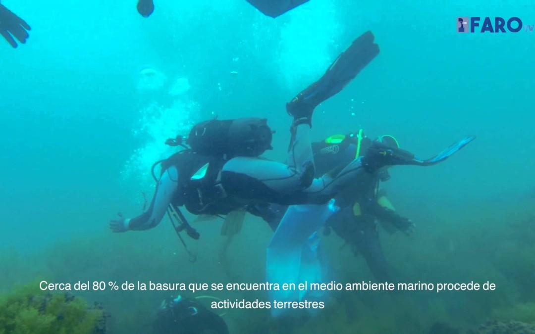 Primera Gran Limpieza del Fondo Marino en Ceuta
