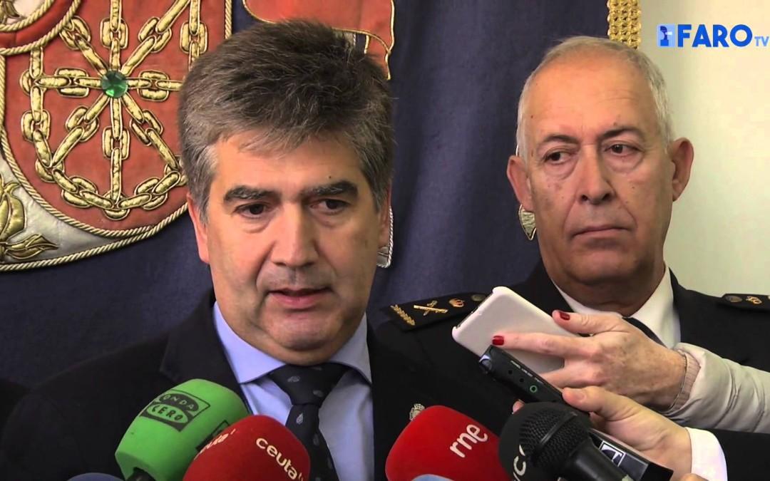 El Director General de la Policía, Ignacio Cosidó, visita Ceuta