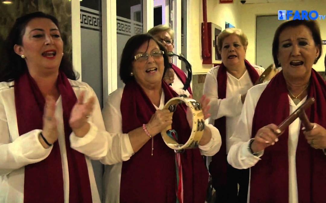 'Ya güele a Navidad' en la residencia de Nuestra Señora de África