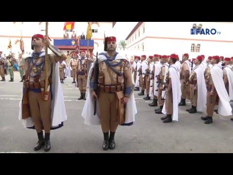 Duque de Alba 2º de la Legión y el Grupo de Regulares Ceuta 54 celebran la Inmaculada Concepción