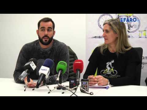 Carracao se 'moja' por la ong 'Bicicletas sin Fronteras'