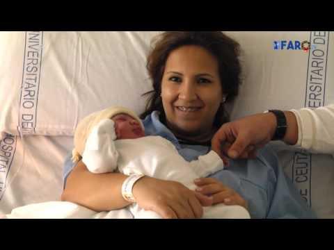 Salma Hilmani Boularef, el primer nacimiento del año en Ceuta