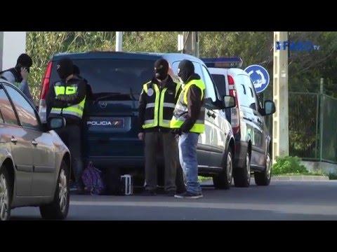 Operación contra terrorismo en Ceuta y Marruecos