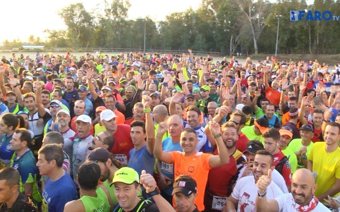 Casi 700 corredores en la salida de la 'Sierra Bullones'