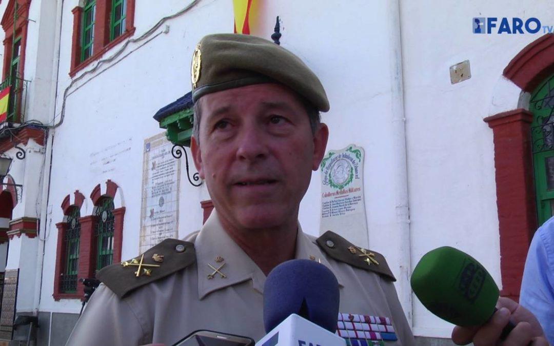 Comandante general de Ceuta valora el comportamiento ejemplar de Hicham