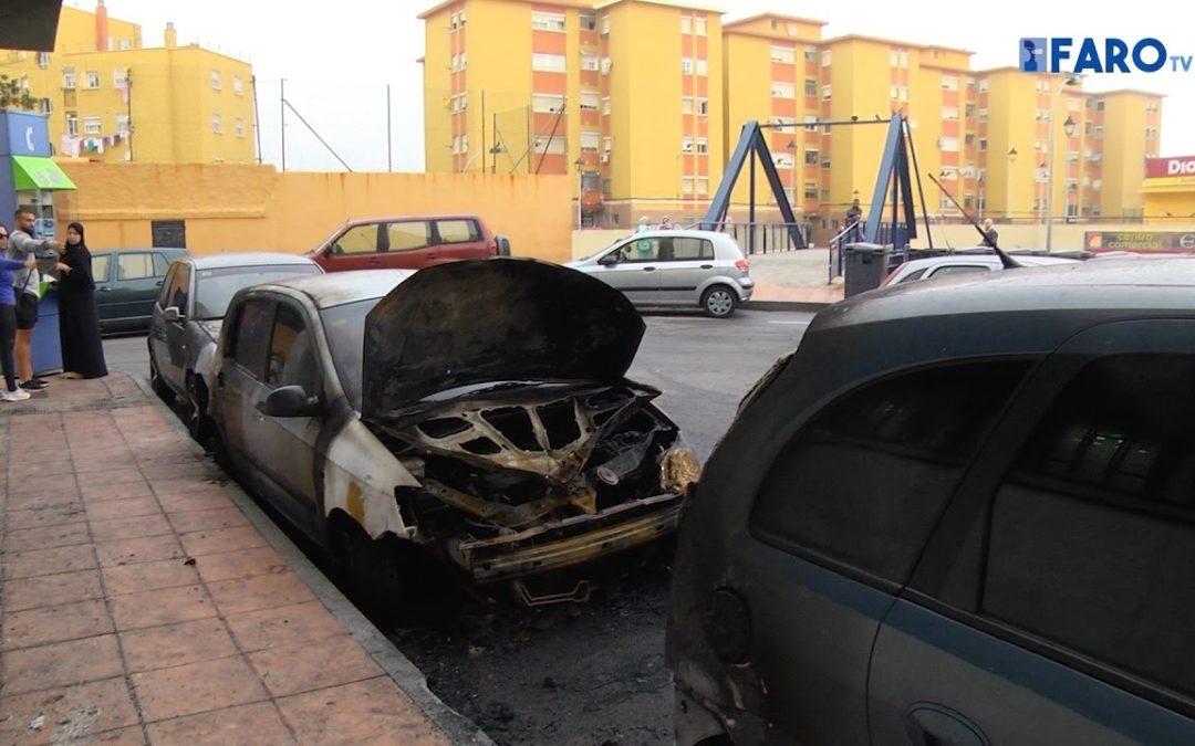 Un vehículo quemado y otros dos afectados en Santos Vilela