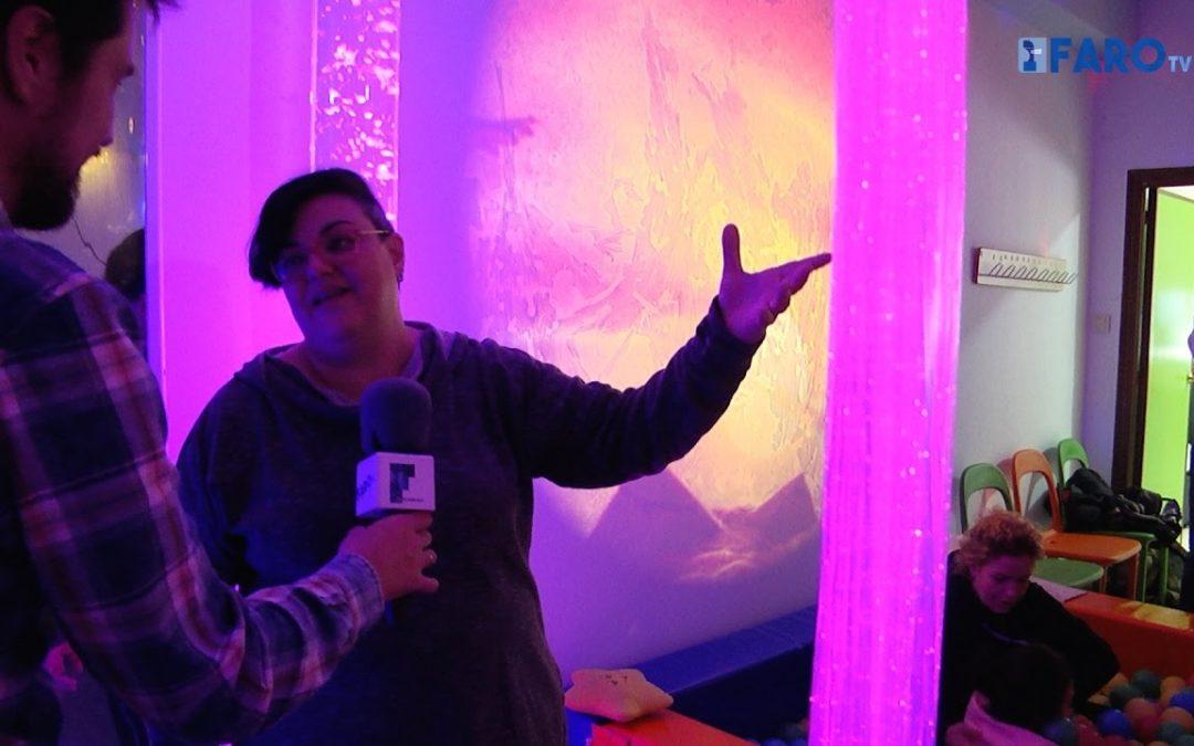 Plena Inclusión muestra su sala de estimulación sensorial en una jornada de puertas abiertas