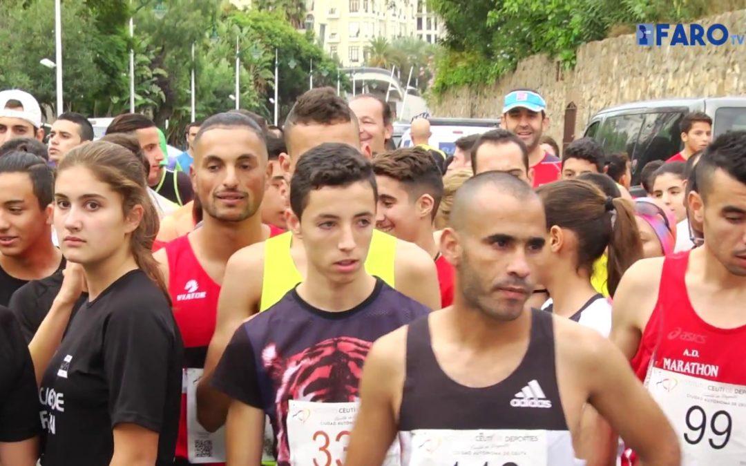 204 atletas participan en la XXVI Media Maratón 'Ciudad de Ceuta'