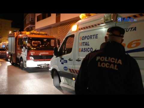 Cinco personas atendidas por inhalación de humo en Zurrón